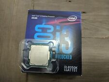 Intel Core i3 8350K 4.0GHz 4C/4t Overclockable LGA 1151 processor