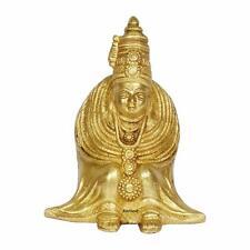 Brass Avatar of The Goddess Parvati- Tulja Bhavani Idol Statue Figurine