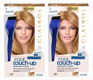 2 Nice N Easy Clairol Root Touch Up #7 Dark Blonde