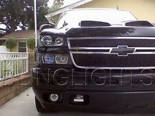 2003-2014 Chevy Chevrolet  Silverado Halo Fog Lamp Angel Eye Driving Lights