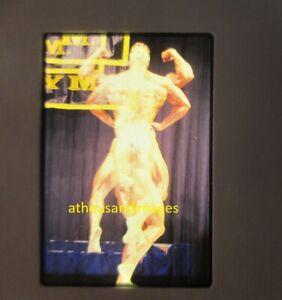 35mm Slide Photo ERROR ABSTRACT ART gay Sexy Men Physique Bodybuilding JG817