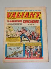 VALIANT 24TH APRIL 1965 FLEETWAY BRITISH WEEKLY COMIC*