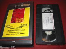 La Tenda Rossa (1970)   VHS Ricordi 1a Ed   Claudia Cardinale Sean Connery