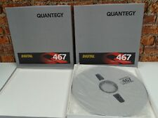 3 x Brand New & Sealed Quantegy 467 DASH 14in Digital Audio Reel To Reel Tapes