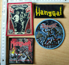 RARE WOVEN IGGY AND THE STOOGES HANGGAI DISMEMBER MANOWAR PATCH PRIEST DEEP THE