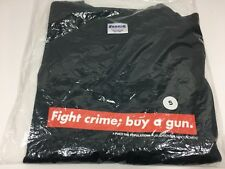 FTP X FUCT Fight Crime Tee Size SMALL NAVY S Brand New T- Shirt **SHIP NOW ***