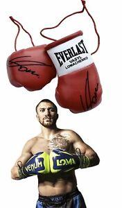 Autographed Mini Boxing Gloves Vasyl Lomachenko
