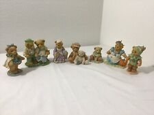 New ListingLot of 7 Vintage 1990's 1991-1997 Cherished Teddies Collection Figurines -p