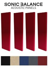 4X Acoustic Panels / Slim Broadband Absorbers for Pro/Home Studio