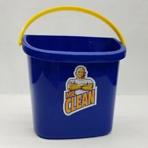 Mr Clean Shower Cleaner Supply Bucket Vintage Promo Advertising