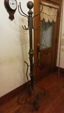 "Antique Coat Rack Brass  6'x 24"", Ornate metalwork"