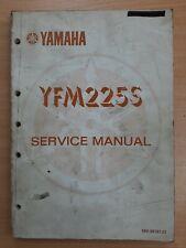 Yamaha YFM225S Owners Workshop Service Manual