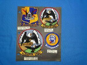 Korean - Vietnam War Era USAF Squadron Patch Lot (#30)