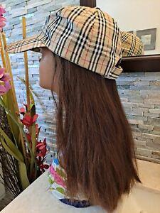 """Human hair FALL sheitel wig Medium breathable cap 19"""" long brown straight"""