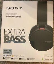 New Sony MDR-XB950B1/B Extra Bass Wireless Headphones with App Control, Black