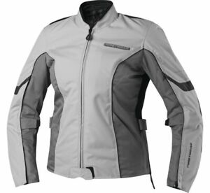 FirstGear Women's Contour Textile Motorcycle Jacket Silver