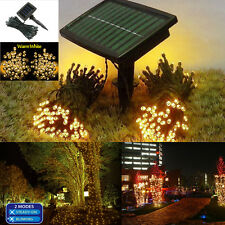 iMountek 100 LED Solar String Light Copper Coated Wire Water Resistant Two -