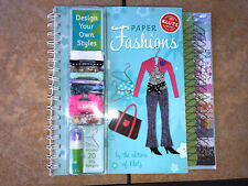 Paper Fashions : Design Your Own Styles (2006, Spiral)