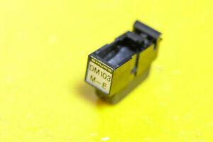 Genuine SHURE DM 103 M-E Cartridge with DUAL TK Mount Stylus not included