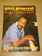 JAZZ JOURNAL INTERNATIONAL VOL 43 #1 1990 JANUARY CHARLES THOMPSON EDDIE DAVIS