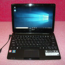 "Acer Aspire One 722 11.6"" Netbook 1GHz CPU 4GB RAM 320GB HDD HDMI Win 10 Home"