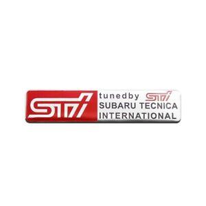 Tuned By Badge STi Subaru Tecnica International Decal Boot for Impreza WRX STi