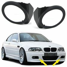 FOG LIGHTS COVERS / SURROUNDS FOR BMW E46 M3 3 SERIES M SPORT BUMPER