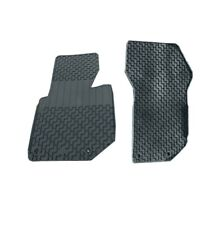 Genuine Front Black Rubber All Weather Floor Mats Set for BMW E36 3-Series