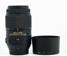 Nikon Nikkor AF 55-300mm F/4.5-5.6 DX G SWM VR ED Lens