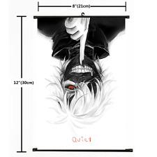 Hot Anime Tokyo Ghoul Kaneki Ken Wall Poster Scroll Home Decor Cosplay 2346