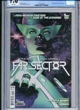 Far Sector 1 - CGC 9.8 - 1st Appearance of Sojourner Jo Mellein - Green Lantern