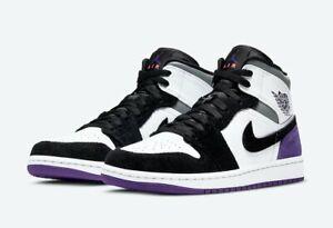 Air Jordan 1 Mid SE Purple 852542-105