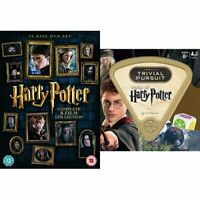 Harry Potter Complete 8-Film Collection DVD and Trivial Pursuit Bundle [DVD]