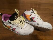 Es Skateboard Shoes Symbol White/Purple Size 10 US