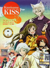 Kamisama Kiss [The Girl in The World of Spirit] DVD Complete 1-13 (Japanese Ver)