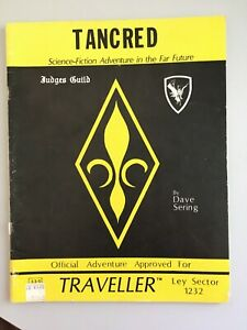 TRAVELLER TANCRED Science-fiction adventure in the far future RPG