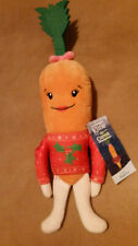 ALDI KATIE THE CARROT  with Christmas Jumper Plush Toy 14 INCH