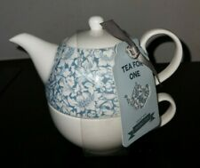 Tea For One Teapot Floral Design