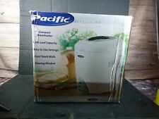 Pacific Compact Breadmaker 1.5lb loaf