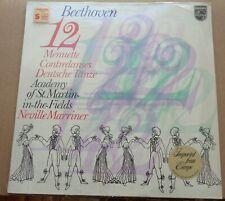 Marriner BEETHOVEN 12 Minuets/German Dances/Contredanses Philips 9500 567 SEALED