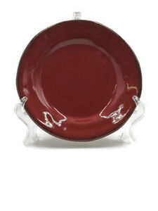 Crate & Barrel Red Carmen Appetizer Plate