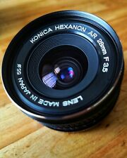 Konica Hexanon AR 28mm f3.5 (EXCELLENT/MINTY) Lens made in Japan 6788739