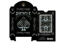 CARTE DA GIOCO BICYCLE PLATINUM,poker size