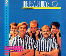 COFFRET 2 CD THE BEACH BOYS I GET AROUND 40 TITRES MADE IN FRANCE 1989 RARE NEUF