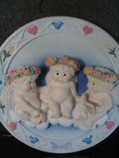 Hamilton Dreamsicles Flying Lesson Sculptured 1995 Nib Plate New Old Stock