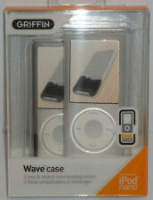 Griffin 2pk Wave Cases with EasyDock Apple Ipod Nano 4th Gen