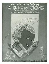 Publicité ancienne crème la reine des crèmes 1930 issue de magazine