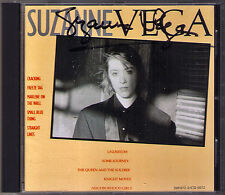 Suzanne VEGA Signiert DEBUT CD Cracking Freeze Tag Marlene on the Wall Undertow