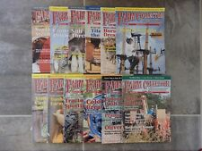 12 issue lot Farm Collector Magazine January through December 2004