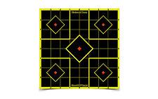 New! Birchwood Casey Shoot-N-C 8-Inch Sight In Target (6 Sheet Pack) 34105